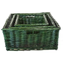 Úložný box rozměry boxu (cm): Sada  49x47x20|42x40x17|33x32x15