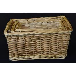 Úložný box přirodní rozměry boxu (cm): Sada  40x29x20|35x24x18|29x19x16