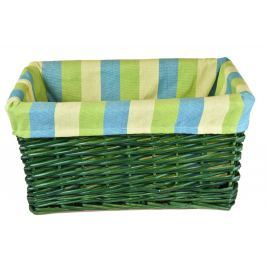 Úložný box zelený rozměry boxu (cm): Sada  55x39x28|49x33x25|43x28x23|23x18x20|23x18x20