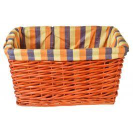 Úložný box oranžový rozměry boxu (cm): Sada  54x39x27|49x34x25|43x28x22|23x18x20|23x18x20
