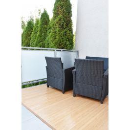 Bambusový koberec světle hnědý Rozměry: 80x200