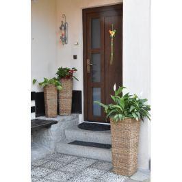 Hranatá váza přírodní Rozměry (cm): sada