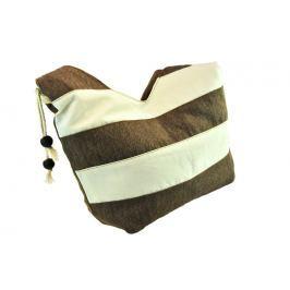 Lehká hnědá kabelka přes rameno