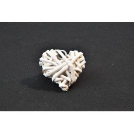 Srdíčko bílé malé - 5 ks
