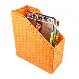 Pořadač na časopisy oranžový