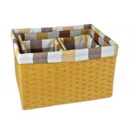 Úložný box pískový Rozměry (cm): 18x22, v. 20