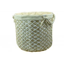 Prádelní koš kulatý Rozměry (cm): průměr 34, v. 29