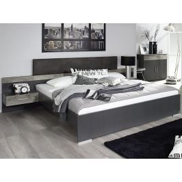 Penzberg 160x200 cm, šedá/beton