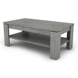 Inter, šedý beton