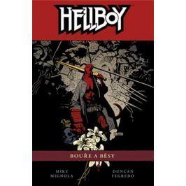 Hellboy 12: Bouře a běsy - Duncan Fegredo, Mike Mignola