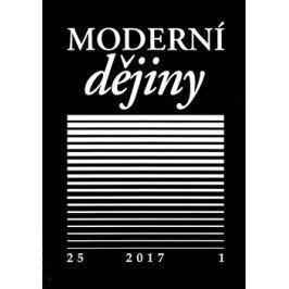 Moderní dějiny 25/1 2017