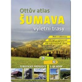 Ottův atlas výletní trasy Šumava - Ivo Paulík