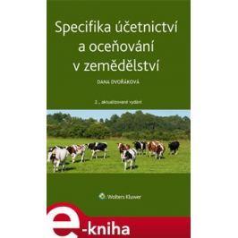 Specifika účetnictví a oceňování v zemědělství - Dana Dvořáková