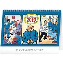 Stolní kalendář Josef Lada – Švejk 2019