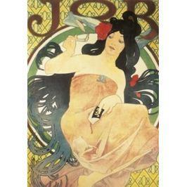 Pohled Alfons Mucha – Job, krátký