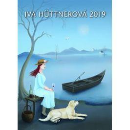 Kalendář 2019 - Iva Hüttnerová - nástěnný - Iva Hüttnerová