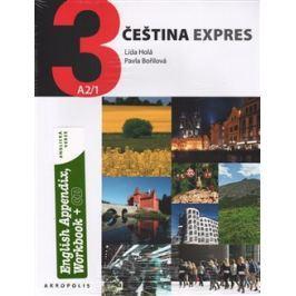 Čeština expres 3 A2/1 - anglicky + CD - Lída Holá, Pavla Bořilová
