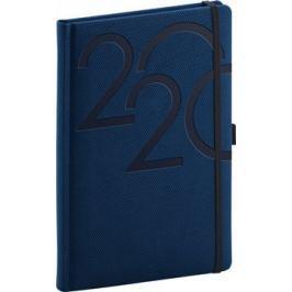 Týdenní diář Ajax 2020, modrý, 15 × 21 cm
