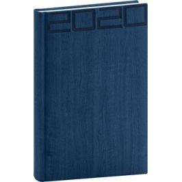 Denní diář Forest 2020, modrý, 15 × 21 cm
