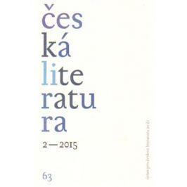 Česká literatura 2/2015