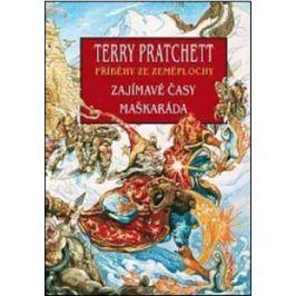 Zajímavé časy + Maškaráda - Terry Pratchett