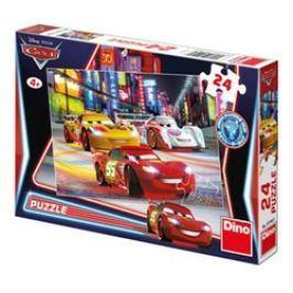 Puzzle Cars Noční závod 24 dílků