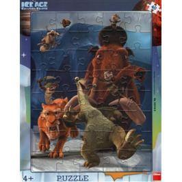 Puzzle Doba ledová - Úprk /40dílků/