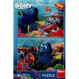 Puzzle Dory mezi korály /2x66dílků/