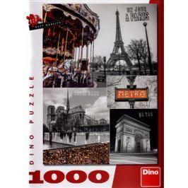 Dino Paříž koláž 1000 dílků