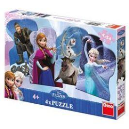 Puzzle Frozen 4x54 dílků