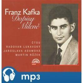 Dopisy Mileně - Franz Kafka