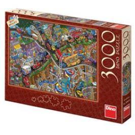 Puzzle Bláznivá jízda, 3000 dílků