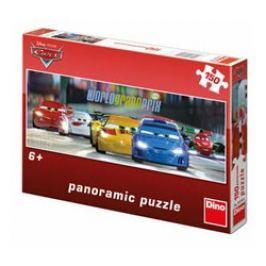 Puzzle Cars na okruhu 150 dílků panoramatic