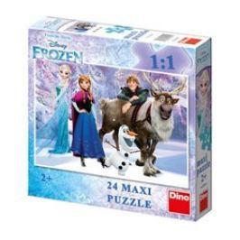 Puzzle Frozen: Elsa a přátelé 24 dílků maxi