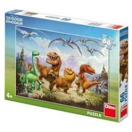 Puzzle Hodný dinosaurus:Arlo a kamarádi 66 dílků