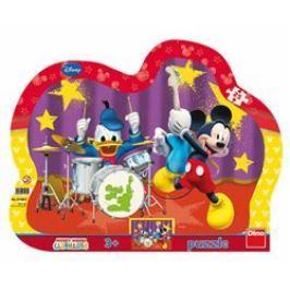 Puzzle Mickeyho kapela 25 dílků