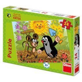 Puzzle Krtek a Myška 24 dílků - Kateřina Millerová, Zdeněk Miller
