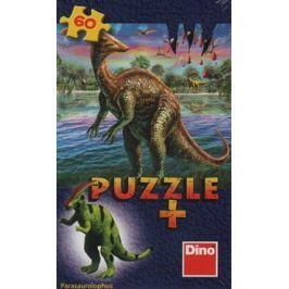 Dino Dinosauři 6 druhů + figurka dinosaura 60 dílků