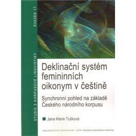 Deklinační systém femininních oikonym v češtině - Marie Tušková
