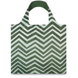 Taška - motiv zelené vlnky