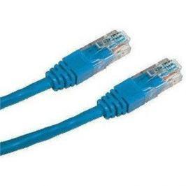 Datacom CAT6, UTP, 0.5m, modrý