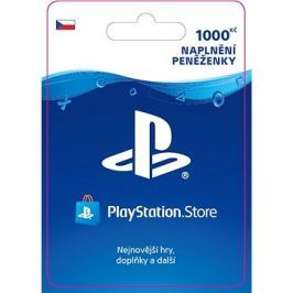 PlayStation Store - Kredit 1000 Kč - CZ