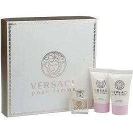 Versace Versace New Woman EDP 5 ml + tělové mléko 25 ml + sprchový gel 25 ml dárková sada
