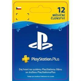 PlayStation Plus 12 měsíční členství - CZ