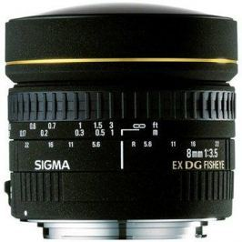 SIGMA 8mm f/3.5 EX DG rybí oko CIRCULAR pro Canon