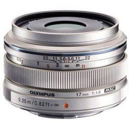 M.ZUIKO DIGITAL 17mm silver f/1.8
