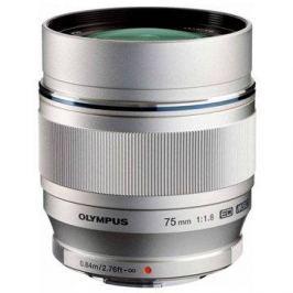 M.ZUIKO DIGITAL ED 75mm f/1.8 silver