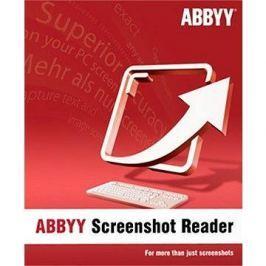 ABBYY Screenshot Reader (elektronická licence)