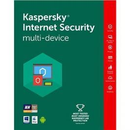 Kaspersky Internet Security multi-device 2018 pro 1 zařízení na 24 měsíců (elektronická licence)