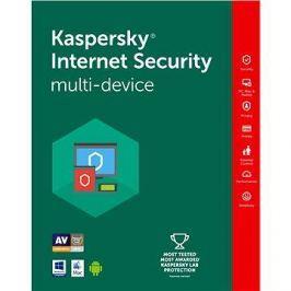 Kaspersky Internet Security multi-device 2018 pro 3 zařízení na 24 měsíců (elektronická licence)